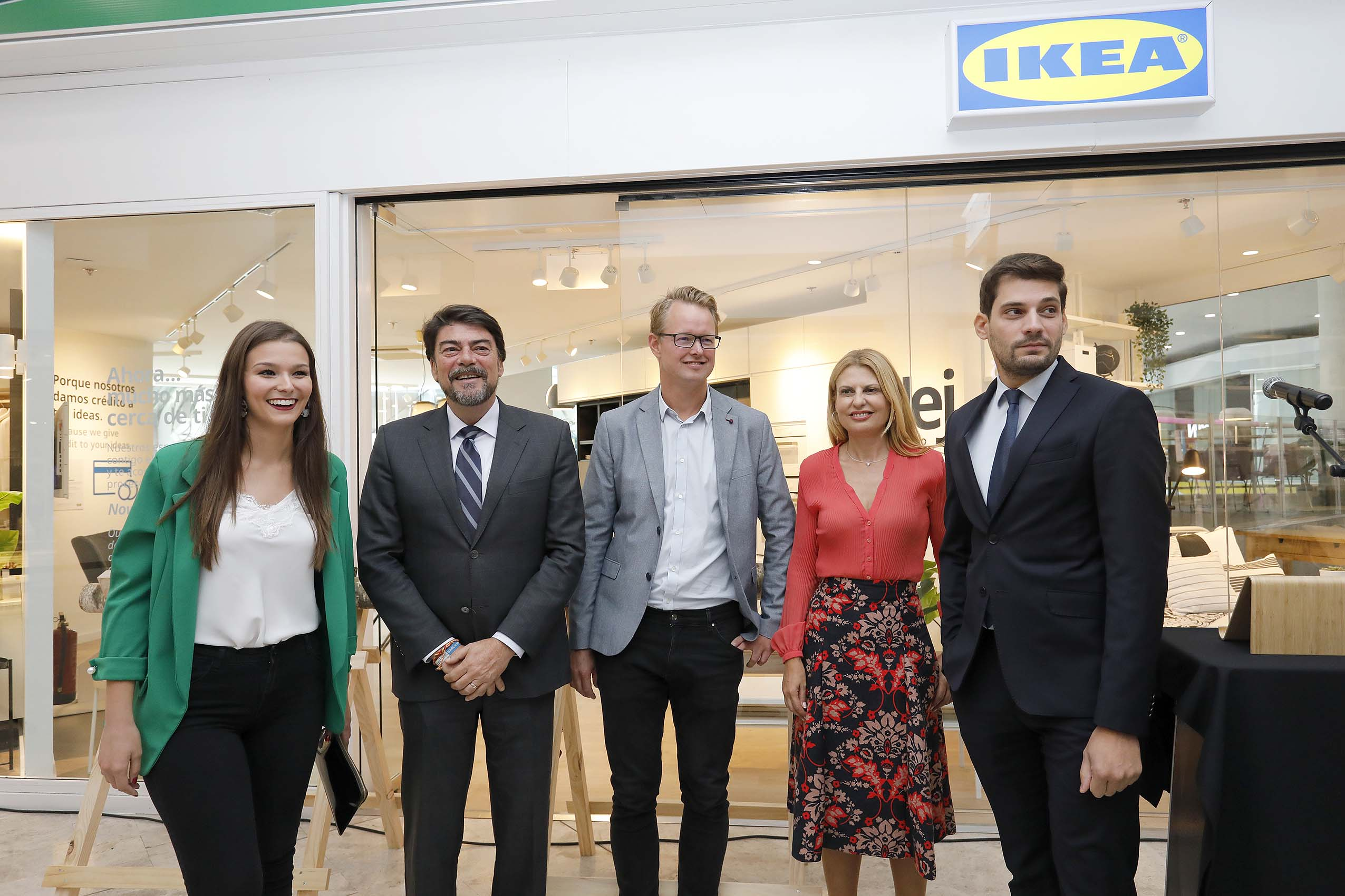 Barcala celebra que 'Ikea está en Alicante' al inaugurar la
