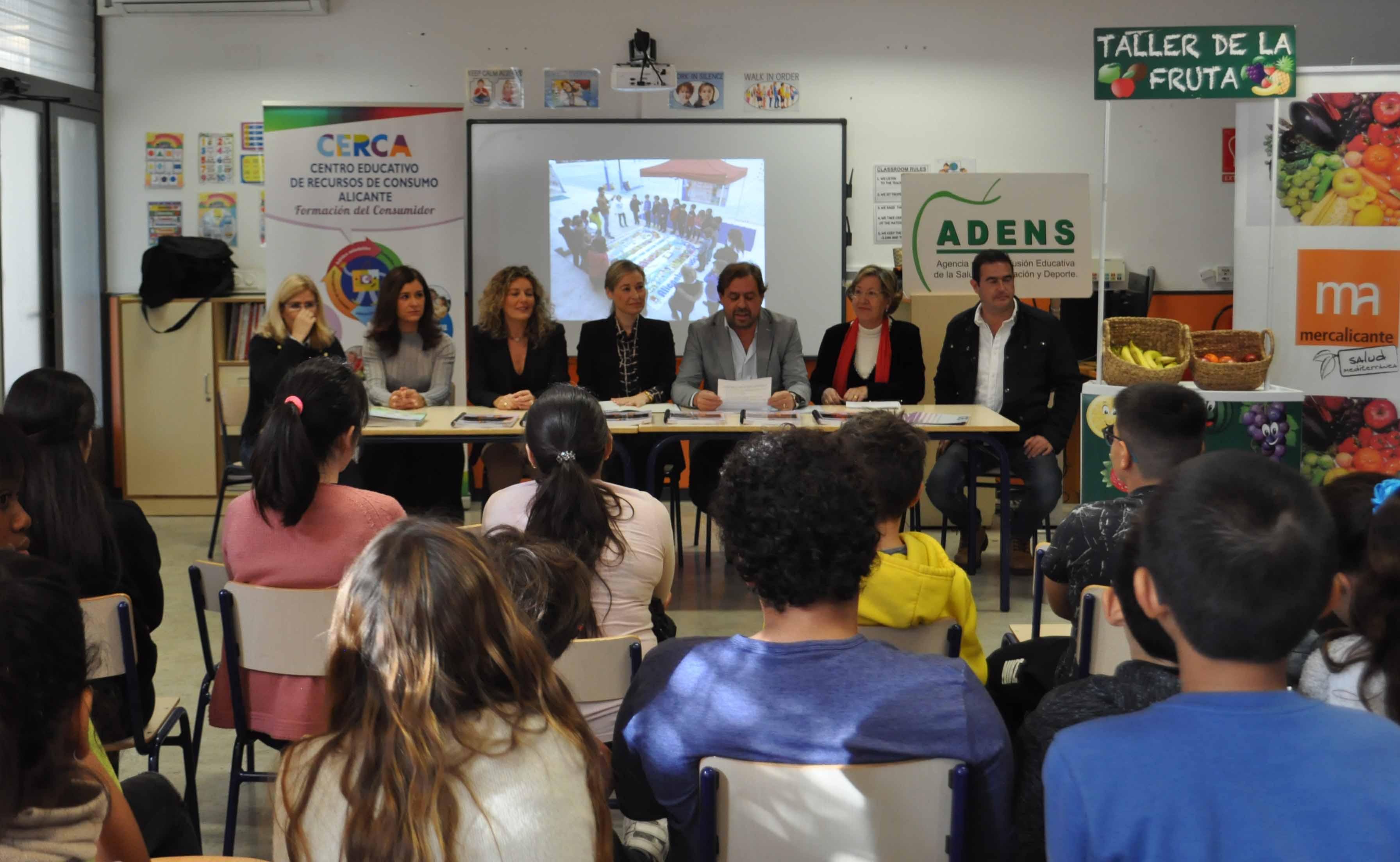 El Ayuntamiento crea el programa pionero 'Escuelas Saludables'