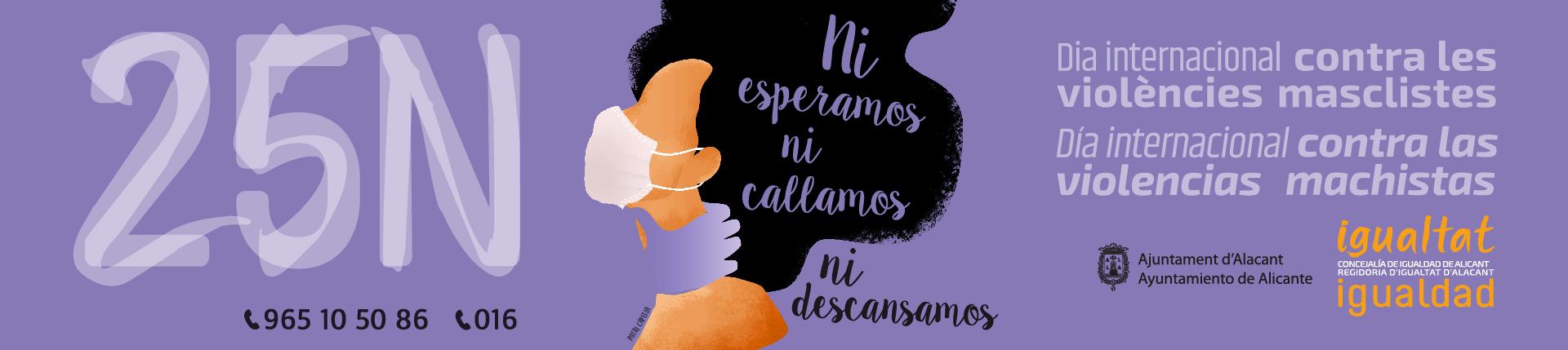 25N Día Internacional contra las violencias machistas