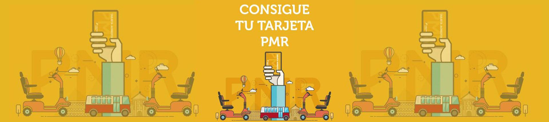 Consigue tu tarjeta PMR
