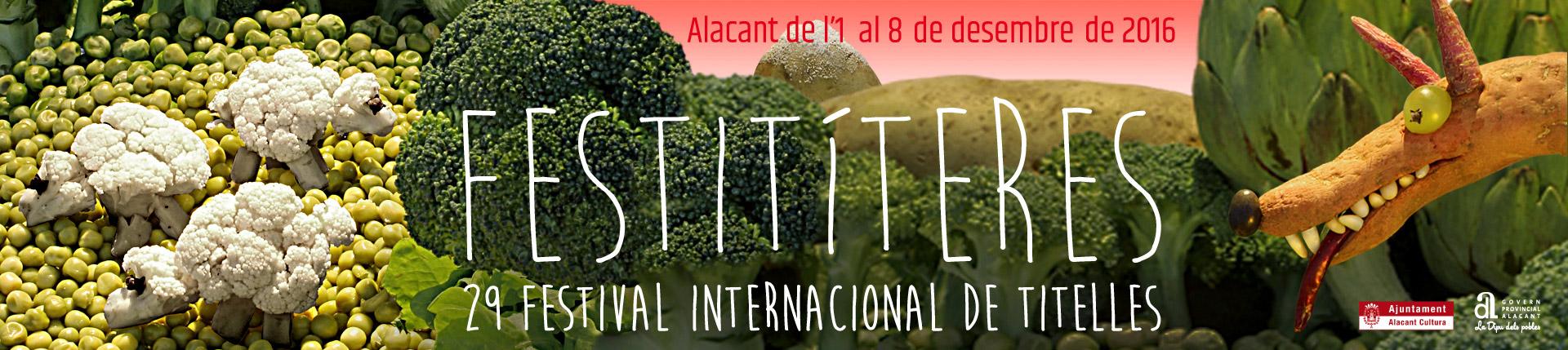 """Festival Internacional de Títeres """"Festitíteres"""" 2016"""