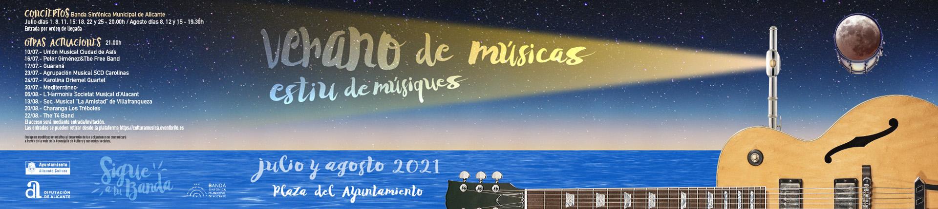 Festival Verano de Músicas 2021