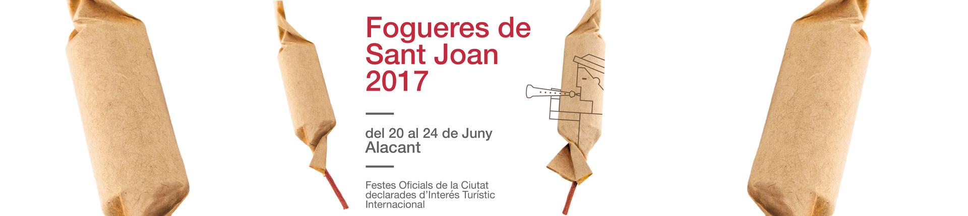 Fogueres de Sant Joan 2017