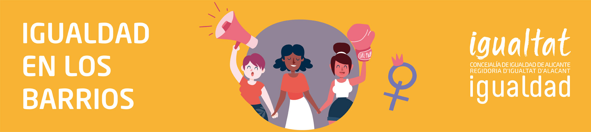 Igualdad en los barrios abril-junio 2021