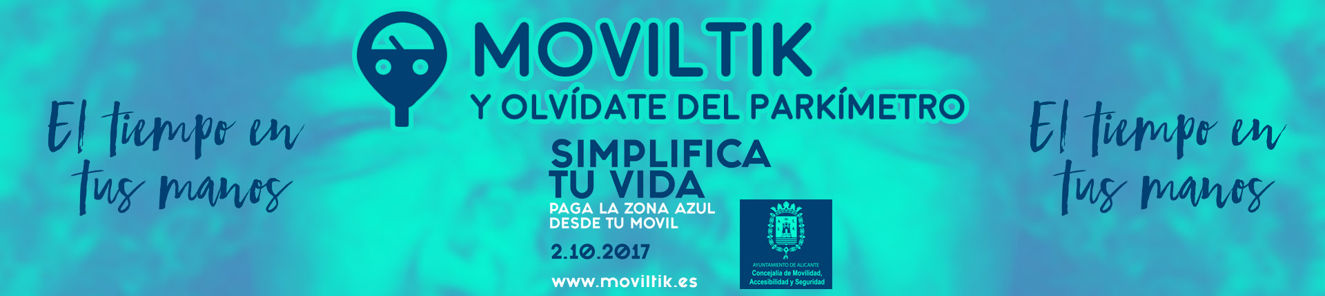 Moviltik - paga la zona azul desde tu móvil