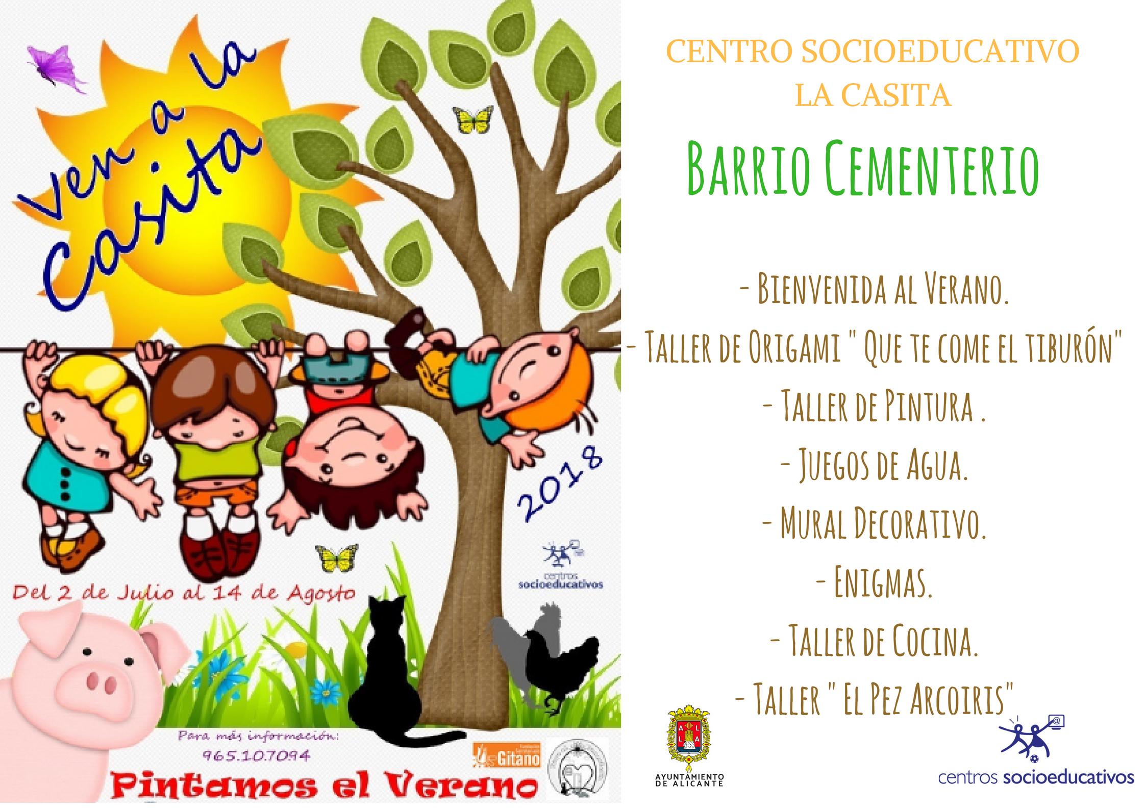Actividades Infantiles En La Casita Barrio Cementerio