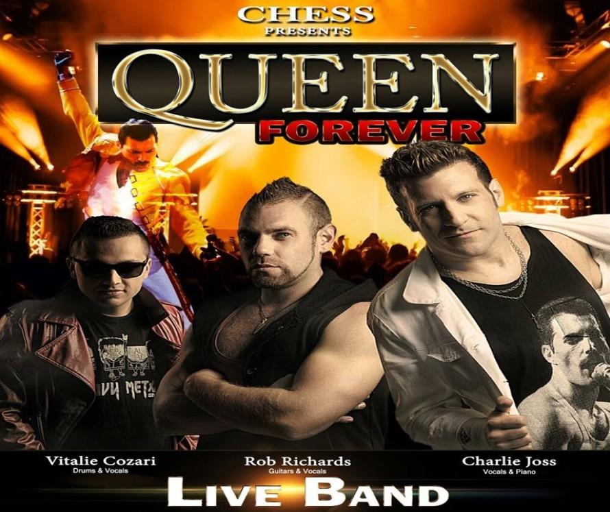 Concierto del grupo musical Chess en tributo a Queen en el ...