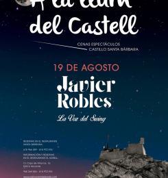 Cena espectáculo con Javier Robles