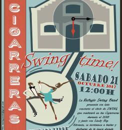 Swing Time el próximo 21 de octubre en el Jardín de las Cigarreras