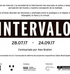 Cartel Exposición Intervalo