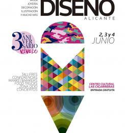 Cartel Mercado Diseño Alicante