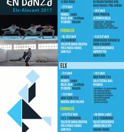"Cartel Festival ""Abril en danza"""