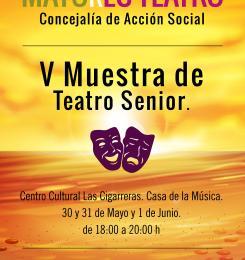 Teatro. Muestra de Teatro Senior.