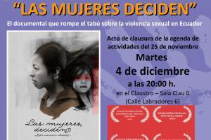 Las mujeres deciden