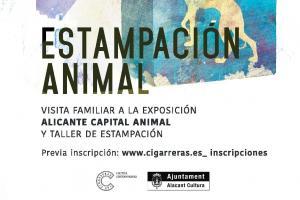 """Taller y visita guiada a la exposición """"Alicante Capital Animal"""""""