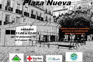 Talleres Medio Ambiente en Plaza Nueva