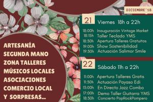 La Paca  Vintage market navideño