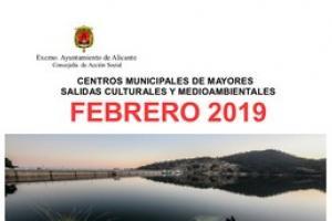 Centros Municipales de Mayores. Salidas culturales y medioambientales febrero 2019