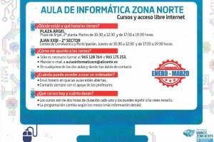 Aula de informática Zona Norte 2019
