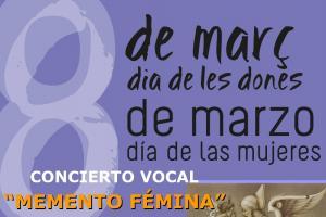 Concierto vocal: Memento Femina