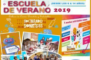 cartel escuela de verano 2019