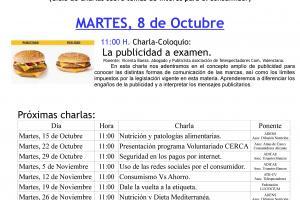 CARTEL CHARLA 8 DE OCTUBRE