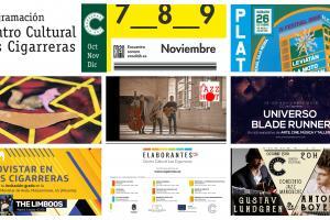 Programación de Las Cigarreras de octubre a diciembre de 2019