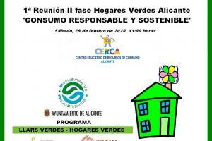 II Fase Hogares Verdes. Consumo Responsable y Sostenible