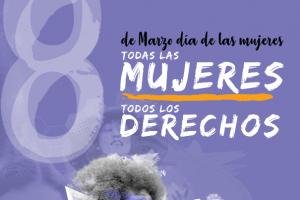 8 de marzo de 2020: TODOS LAS MUJERES, TODOS LOS DERECHOS