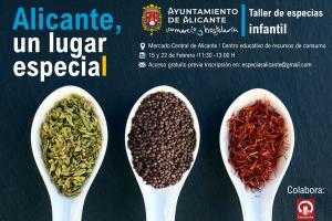 Taller de especias en Alicante