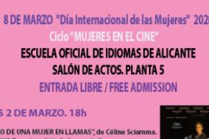 """CICLO """"MUJERES EN EL CINE"""""""