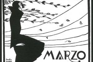 Marzo. Dibujo de Gastón Castelló