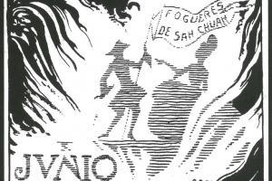 Junio. Dibujo de Gastón Castelló