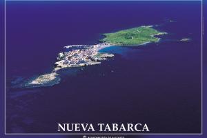 Póster de Nueva Tabarca, de José Benito Ruíz Limiñana