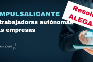 resolución ayudas autónomos y pequeñas empresas Alicante