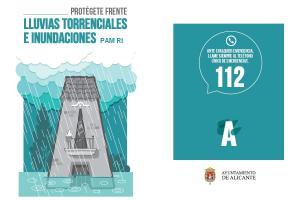 Imagen tríptico Plan de Actuación Municipal frente al Riesgo de Inundaciones