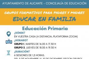 Grupos Formativos ONLINE Educación Primaria