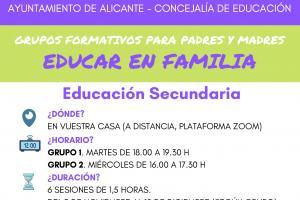 Grupos Formativos ONLINE Educación Secundaria
