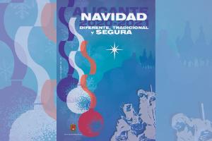 Cartel anunciador de la programación navideña 2020-2021