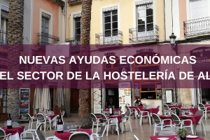 Ayudas al sector de hostelería:ocupación vía pública