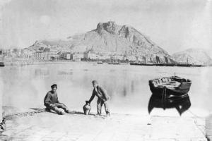 Alicante en 1881. Fotografía de Carlos Nicora