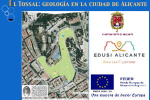 Geología en el Monte Tossal de Alicante