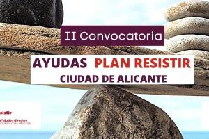 II convocatoria Ayudas Plan Resistir