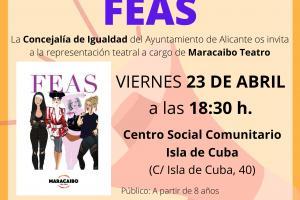 Cartel Feas Maracaibo Teatro
