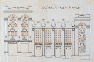 Proyecto construcción cine Ideal 1924