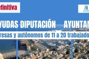 Ayudas a empresas plan diputación ayuntamiento