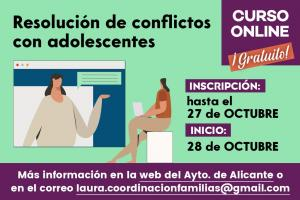 """CURSO ONLINE """"Resolución de Conflictos con Adolescentes"""""""
