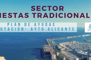 Ayudas a empresas Plan Diputación Ayuntamiento de Alicante Sector Fiestas Tradicionales