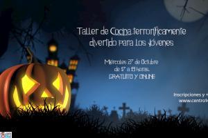 Taller de Cocina Online Especial Halloween.