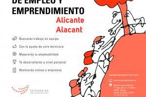Programa de formación para la búsqueda de empleo Lanzadera Alicante 2017